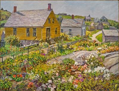 Edward Willis Redfield The Rock Garden Monhegan Island