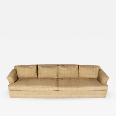 Edward Wormley 1950s Four Seat Sofa by Edward Wormley for Dunbar