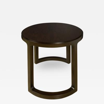 Edward Wormley A Mid Century Modern end table designed by E Wormley for Dunbar Original label