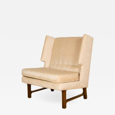 Edward Wormley An E Wormley Dunbar high back wing chair circa 1960