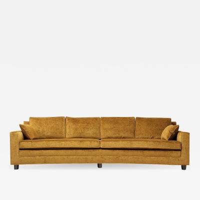Edward Wormley Bow Shaped Sofa