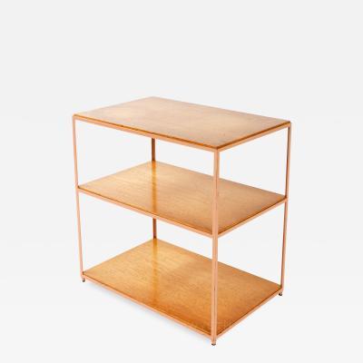 Edward Wormley Burl Birch Shelf Unit