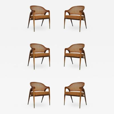 Edward Wormley Captain Armchairs by Edward Wormley for Dunbar