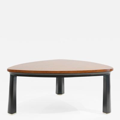 Edward Wormley Carpathian Burl Top Coffee Table