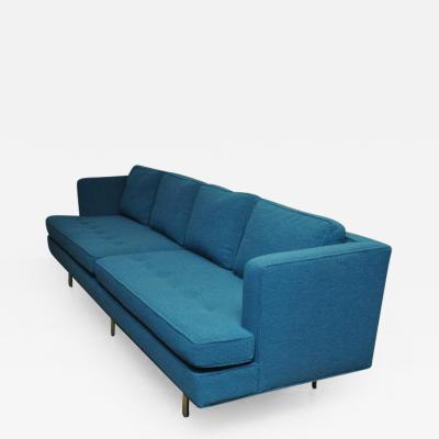 Edward Wormley Dunbar Brass Leg Sofa by Edward Wormley