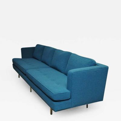 Edward Wormley Dunbar Brass Leg Sofa by Edward Wormley