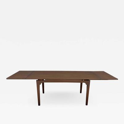 Edward Wormley Dunbar Dining Table by Edward Wormley with Retractable Leaves Mahogany 1950s