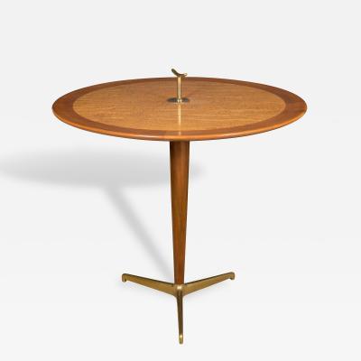 Edward Wormley Dunbar Edward Wormley Circular Gueridon Tripod Table