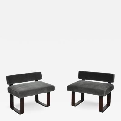Edward Wormley Dunbar Modern Morris Bench Chairs by Edward Wormley