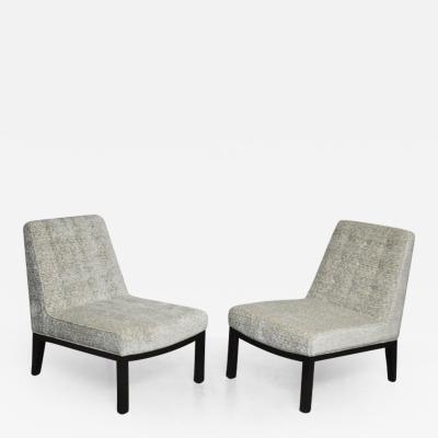 Edward Wormley Dunbar Slipper Chair by Edward Wormley