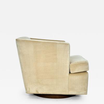 Edward Wormley Dunbar Swivel Chair by Edward Wormley