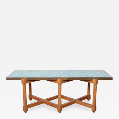 Edward Wormley Dunbar Tile Top Table by Edward Wormley