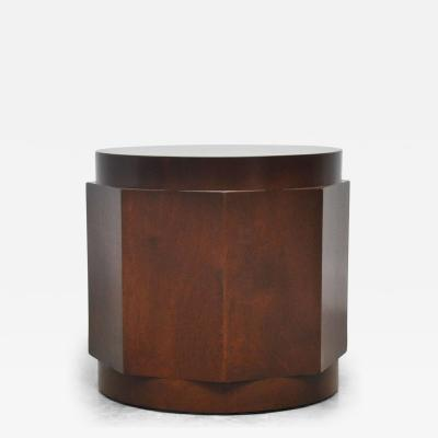 Edward Wormley Dunbar Walnut Burl Side Table by Edward Wormley