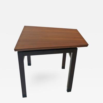 Edward Wormley Dunbar Wedge Table Wormley Mahogany Walnut 1960s