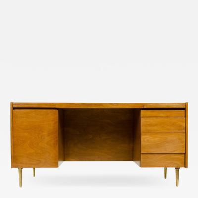 Edward Wormley EDWARD WORMLEY DOUBLE PEDESTAL DESK