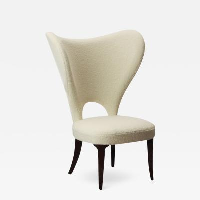 Edward Wormley EDWARD WORMLEY HEART CHAIR