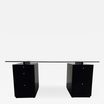 Edward Wormley Ebonized Desk in the Manner of Edward Wormley