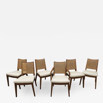 Edward Wormley Edward Wormley Dining Chairs for Dunbar