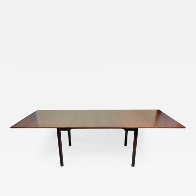 Edward Wormley Edward Wormley Extension Walnut Dining Table for Dunbar circa 1956