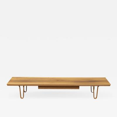 Edward Wormley Edward Wormley Long John Coffee Table for Dunbar
