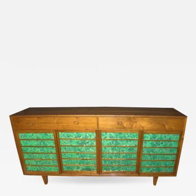 Edward Wormley Edward Wormley Sideboard Model 671 A for Dunbar Custom Order 1953