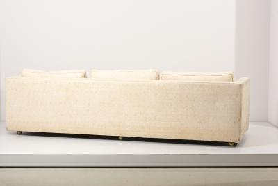 Edward Wormley Edward Wormley Tuxedo Sofa for Dunbar USA 1960s