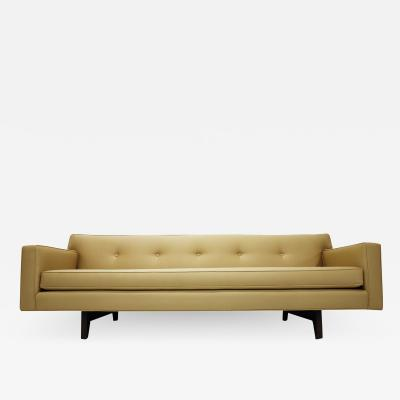Edward Wormley Edward Wormley for Dunbar Bracket Back Sofa