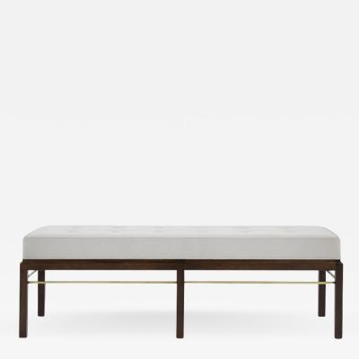 Edward Wormley Edward Wormley for Dunbar Brass Stretcher Bench 1950s 6 800