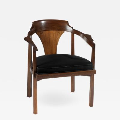 Edward Wormley Edward Wormley for Dunbar Horseshoe Armchair circa 1950s