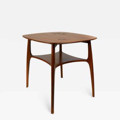 Edward Wormley Edward Wormley for Dunbar Sculptural Janus Table with Natzler Tiles Model