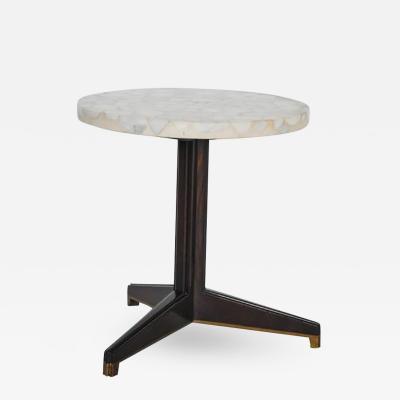 Edward Wormley Edward Wormley for Dunbar Terrazzo Stone Side Table