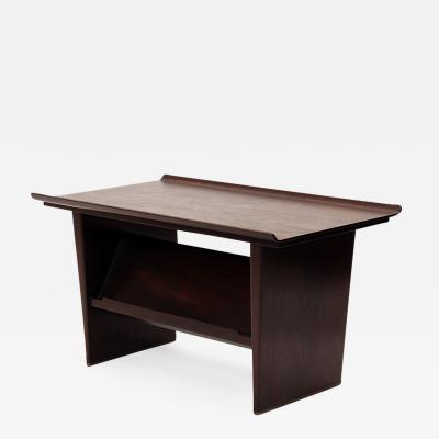 Edward Wormley End Table with Book Display