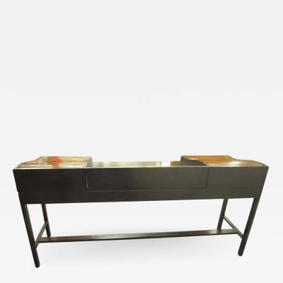 Edward Wormley Excellent Rosewood Roll Top Desk by Edward Wormley for Dunbar Mid Century Modern