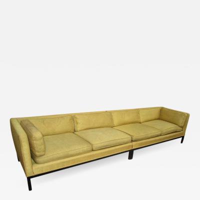 Edward Wormley Fabulous 2 Piece Edward Wormley Dunbar Long Low Mid Century Sofa