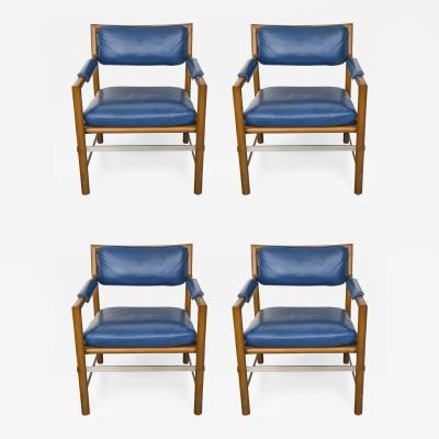 Edward Wormley Four Ed Wormley for Dunbar Chairs