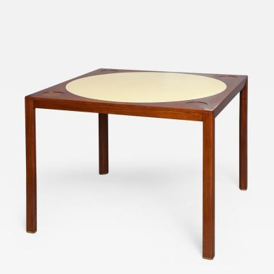 Edward Wormley Game Table by Edward Wormley for Dunbar