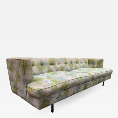 Edward Wormley Handsome Dunbar Even Arm Sofa by Edward Wormley Mid Century Modern