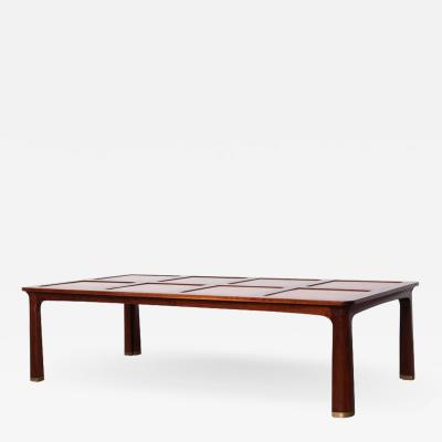 Edward Wormley Large Coffee Table by Edward Wormley for Dunbar