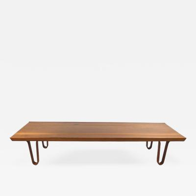 Edward Wormley Long John Bench by Edward Wormley for Dunbar