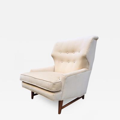 Edward Wormley Lounge Chair by Edward Wormley for Dunbar