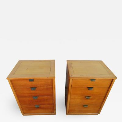 Edward Wormley Lovely Pair of Edward Wormley for Drexel Precedent Nightstand Mid Century Modern