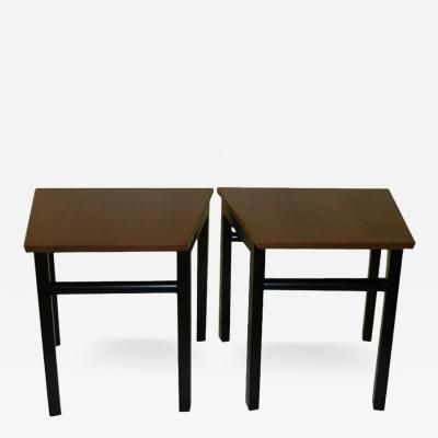 Edward Wormley Mid Century Edward Wormley for Dunbar Side Tables