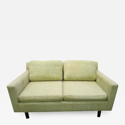 Edward Wormley Mid Century Modern Two Seater Loveseat Sofa by Edward Wormley for Dunbar