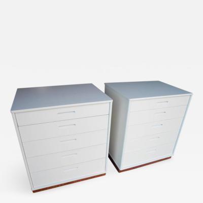 Edward Wormley Modern Matching Nightstands or Dressers Designed by Edward Wormley for Dunbar