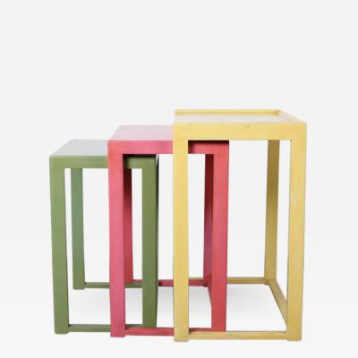 Edward Wormley Nesting Tables by Edward Wormley for Dunbar