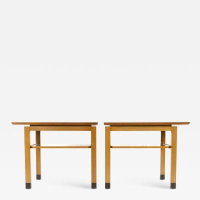 Edward Wormley PAIR OF SIDE TABLES