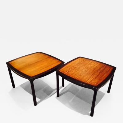 Edward Wormley Pair Of Table By Edward Wormley For Dunbar