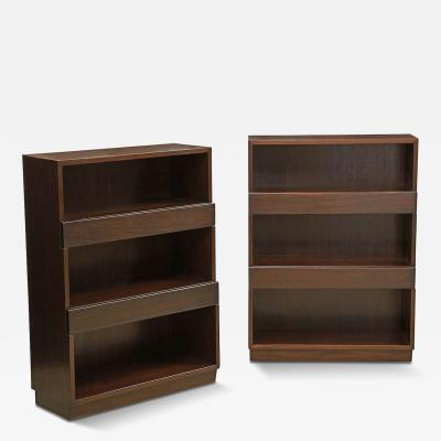 Edward Wormley Pair of 3312C Bookcases by Edward Wormley