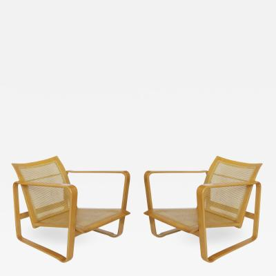 Edward Wormley Pair of Adjustable Chairs by Edward Wormley for Dunbar