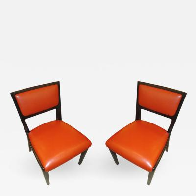 Edward Wormley Pair of Ed Wormley Chairs